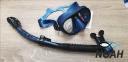 Трубка Cressi ITACA Ultra Dry, синяя 7