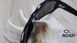 Очки CRESSI солнцезащитные MORFEO SHINY BLACK GREY MIRRORED (made in Italy),  зеркальные черные 6