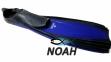 Ласты с закрытой пяткой Zelart ZP-439 для плавания, цвет синий 0