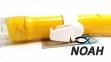Трубка Cressi-Sub Tao Dry Yellow для подводного плавания 2