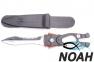 Нож SARGAN Сталкер-Стропорез Z1 с зеркальной полировкой лезвия для подводной охоты 0