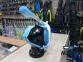 Маска Полнолицевая Bs Diver Easybreath + крепление GO PRO, голубая 9