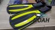 Ласты BS-Diver Hydro-Channel для плавания, цвет желтый 0