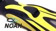Ласты Mares Avanti Excel для плавания, цвет желтый 4