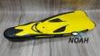Ласты Beuchat X Voyager для плавания, желтые 2