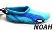 Тапочки для кораллов Brugi Blue неопреновые с силиконовой подошвой (Аквашузы) 2