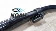 Трубка двухклапанная MARLIN Dry Max для подводного плавания (прямая гофра, цвет черный) 3
