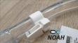 Трубка Cressi SUPERNOVA Dry Lilac для подводного плавания 8