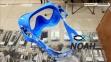 Маска Cressi F1 Frameless Blue для плавания 2