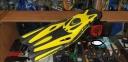 Ласты с открытой пяткой Zelart ZP-451 для плавания, желтый 3