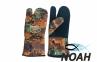 Перчатки Marlin трехпалые Nord Brown 7 мм для подводной охоты 2