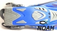 Ласты детские с открытой пяткой Zelart ZP-452 для плавания, цвет синий 2