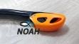 Трубка Marlin Dry Lux, черно - оранжевая 4