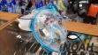 Маска полнолицевая Cressi Duke, аквамарин 5