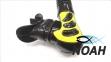 Трубка Cressi Alpha Ultra Dry, желтая 0