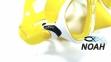 Маска Cressi Sub Marea желто-белая 0