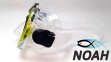 Маска Zelart ZP-M301TSS для плавания, цвет желтый 1