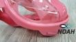 Полнолицевая детская маска Verus Free Breath KID для плавания, розовая 4
