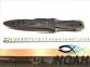 Нож Omer Maxi Laser для подводной охоты 2