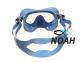 Маска Cressi F1 Small Blue для плавания, детская 3