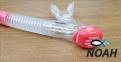 Трубка Marlin Dry Duo для плавания двухклапанная, розовая 3