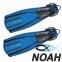 Ласты Mares Avanti Quattro + с открытой пяткой для плавания, цвет синий 0