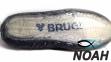 Тапочки для кораллов Brugi Black неопреновые с силиконовой подошвой (Аквашузы) 4