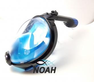 Маска Полнолицевая Bs Diver Profi Dry для снорклинга, синяя