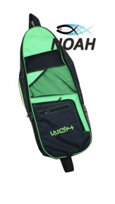 Сумка WGH Beach Bag 75 см для 2 комплектов коротких ласт, зеленая