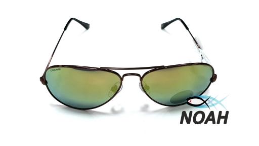 Очки CRESSI солнцезащитные NEVADA COPPER/YELLOW LENS желтые