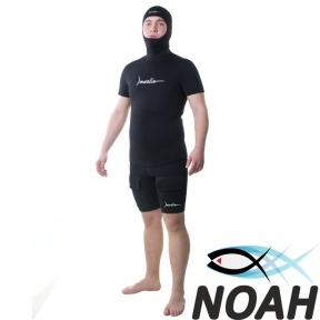 Майка Marlin Gold + короткий рукав + шлем 3 мм для подводной охоты