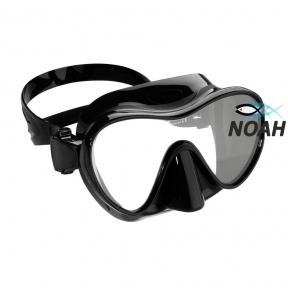 Маска Verus F1 Frameless Black для плавания