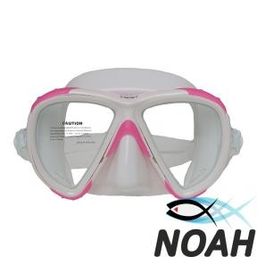 Маска Marlin Twist pink/white для плавания