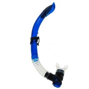 Трубка Marlin Ultra для плавания, синяя