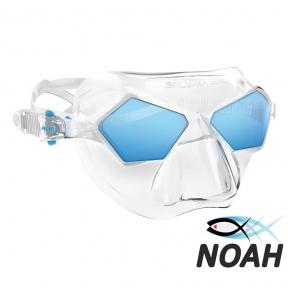 Фридайверская маска Salvimar Incredible, прозрачно-синяя