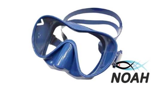 Маска Verus F1 Frameless Blue для плавания