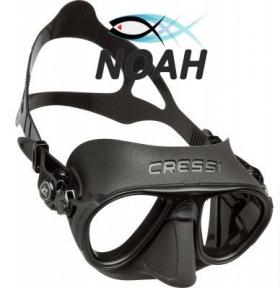 Маска Cressi Calibro для подводной охоты, черная