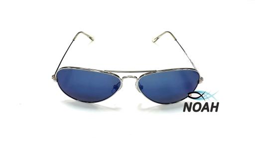 Очки CRESSI солнцезащитные NEVADA SILVER/BLUE LENS синие
