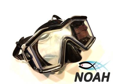 Маска Intex 55982 для плавания и дайвинга с панорамными стеклами (серая)