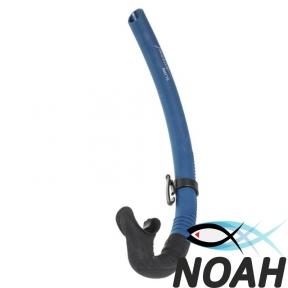 Трубка Marlin Matte Blue полужесткая для подводной охоты