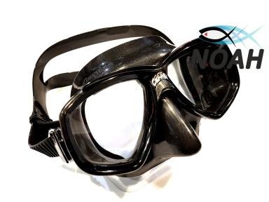 Маска Cressi Perla для плавания, черная