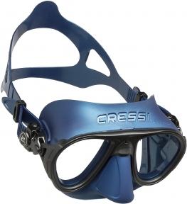 Маска Cressi Calibro для подводной охоты, синяя