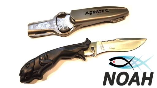 Нож подводный Aquatec Leopard