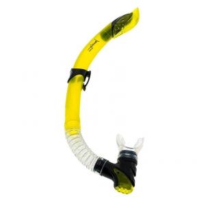 Трубка Marlin Ultra для плавания, желтая