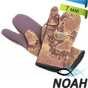 Перчатки Marlin трехпалые Nord Oliva 7 мм для подводной охоты