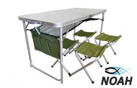 Набор туристический Ranger стол и 4 стула