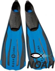 Ласты Aqua Lung Wind с закрытой пяткой (синие)
