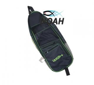 Сумка WGH Beach Bag 75 см для 2 комплектов коротких ласт, черная