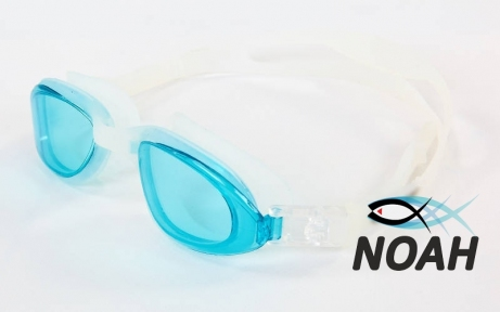 Очки для плавания SS 1201, прозрачно-синие