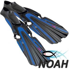 Ласты Mares Volo Race для плавания, синие